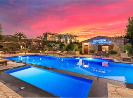 Oceanides Luxury Apartments, family hotel in Sitia