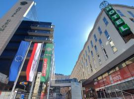 Hotel Gromada Centrum Warszawa 4*, viešbutis Varšuvoje, netoliese – Prezidentūra