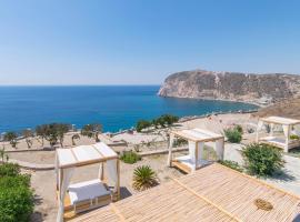 Psaravolada Hotel Milos, hotel near Panagia Tourliani, Agia Kiriaki Beach