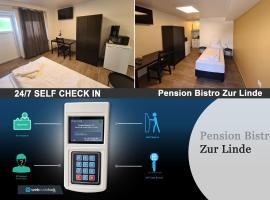 Pension Bistro Zur Linde, Hotel in der Nähe von: Erlebnispark Schloss Thurn, Heßdorf