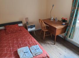 Chez Mimi - chambre vue jardin, B&B/chambre d'hôtes à Bruxelles