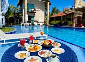 Pousada Villa Pantai, hotel with jacuzzis in São Miguel dos Milagres