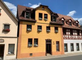 Villa Ammonit, Ferienwohnung in Pottenstein