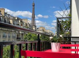 Hôtel Le Cercle Tour Eiffel, hotel perto de Torre Eiffel, Paris