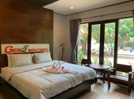 Gen2 Boutique by Baanmo resort sukhothai, hotel with pools in Sukhothai
