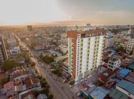 Gold Leaf Hotel, hotel in Mandalay