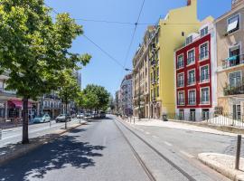 Anjos Balconies, B&B in Lisbon