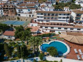 Hotel y Bungalows Balcón de Competa, hotell nära Punta Lara, Cómpeta