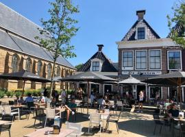 Hotel Grandcafe De Doelen, hotel in Franeker