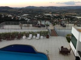 Casa no Mirante de Escarpas, pet-friendly hotel in Capitólio