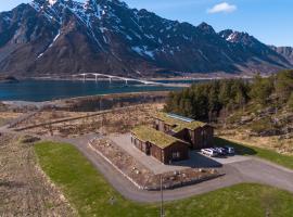 Kleppstad Lodge Lofoten Experience, hotell i Sydalen