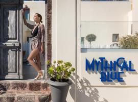 Mythical Blue Luxury Suites, romantic hotel in Fira