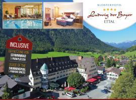 Hotel Klosterhotel Ludwig der Bayer, family hotel in Ettal