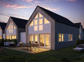 Moderne hytte rett ved sjøen, familievennlig beliggenhet i Åros, villa i Kristiansand