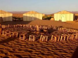 Bivouac nature and freedom, luxury tent in Zagora