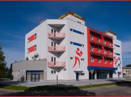 Sport Hotel České Budějovice, hotell i České Budějovice