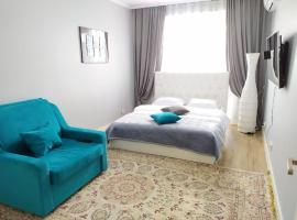 New apartments Abay 130, hotel in Almaty