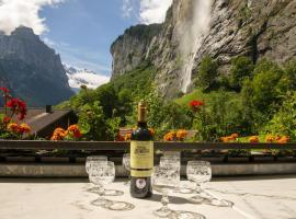 Lauterbrunnen Staubbach Wasserfall Wohnung