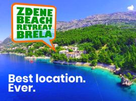 Zdene Beach Retreat Brela, apartment in Brela