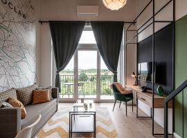 RentPlanet - Apartamenty Zarembowicza I – hotel w pobliżu miejsca Lotnisko im. Mikołaja Kopernika we Wrocławiu - WRO