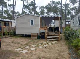 """L'OLIVIER """" Camping Les Dunes de Contis """" St Julien en Born, campground in Saint-Julien-en-Born"""