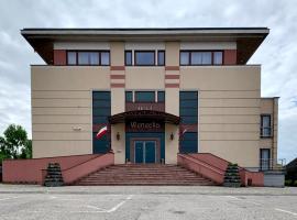 Hotel Restauracja Wenecka – hotel w pobliżu miejsca Sanktuarium Matki Bożej Częstochowskiej w mieście Kłobuck
