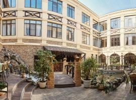 Troy Hotel, hotel with jacuzzis in Krasnodar