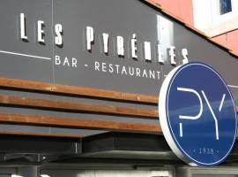 Les Pyrénées, hotel in Mont-de-Marsan