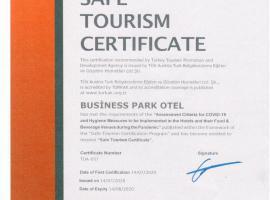 Business Park Hotel, hotel in Ankara