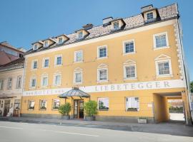Hotel Liebetegger, hôtel à Klagenfurt am Wörthersee