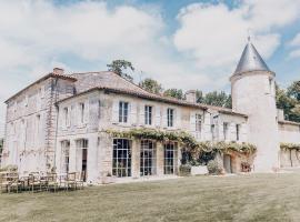 Château de Mouillepied, hotel in Port-d'Envaux
