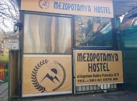 Mezopotamya Hostel, hostelli Belgradissa
