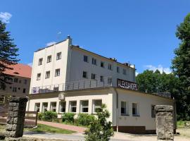 Aleksander, hotel near the Holy Virgin Mary's Assumption church, Długopole-Zdrój