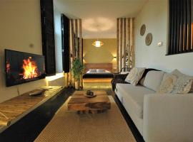 Japanese loft with balconyview citycenter, self catering accommodation in Antwerp