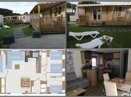 Mobil-home Ô Teddy's au camping Mar Estang, campground in Canet-en-Roussillon