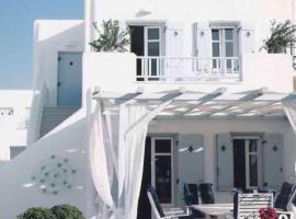 House sea frond at Logaras beach, hotel in Logaras