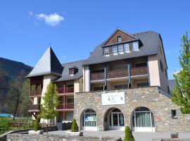 Vacancéole - Les Jardins de Balnéa, aparthotel en Loudenvielle