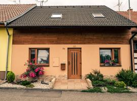 Domeček U Léni, prázdninový dům ve Velkých Pavlovicích