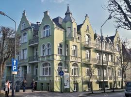 Admirał I, accessible hotel in Świnoujście