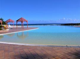Studio accès piscine plage à Saint-François, apartment in Saint-François