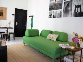 Cosy apartment in the center of Brussels, hotel near Rogier Square, Brussels
