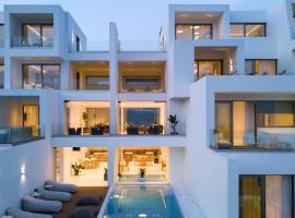 Infinity View Hotel Tinos, hotel near Livada Beach, Tinos Town