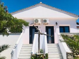 Kirkos Apartments, budget hotel in Kamariotissa