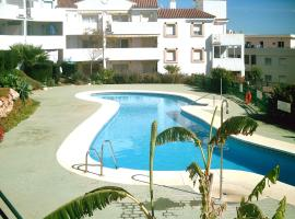 Apartment with 2 bedrooms in Mijas with shared pool enclosed garden and WiFi 2 km from the beach, lägenhet i Mijas