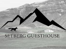Setberg Guesthouse, hotel dicht bij: Jokulsargljufur, Nesjum