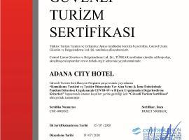 Adana City Boutique Hotel, отель в Адане, рядом находится Центральная мечеть