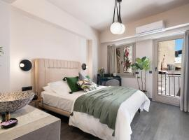 Anaem Eclectic Rooms, serviced apartment in Chania Town