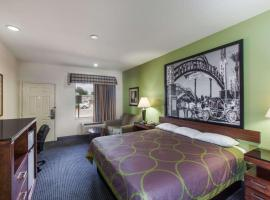 Super 8 by Wyndham Houston Hobby Airport South, hotel near William P. Hobby Airport - HOU, Houston