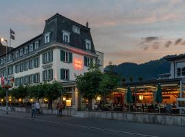 Hotel Krebs Interlaken, hotel in Interlaken