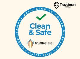 TruffleStays - Travelman Motels, MG Road, Vijayawada, motel in Vijayawāda